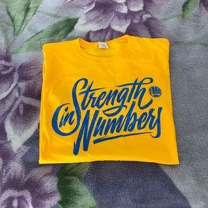 Warriors playoff shirt